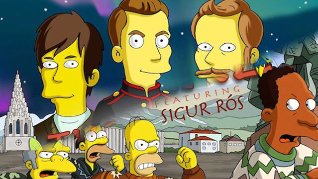News video: 'The Simpsons' Welcome Sigur Rós